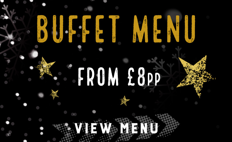 Festive buffet menu at The Original Oak