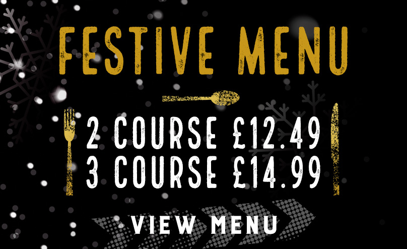 Festive Menu at The Original Oak